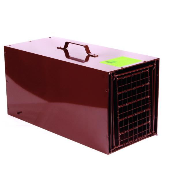 Tru-Catch Traps - R-24 Resister Skunk Armadillo - Enclosed with wire mesh door 24 ga. galvanized steel - 24