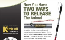 Now you have two ways to release the animal