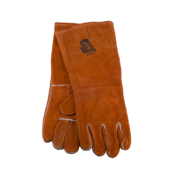 Leather Protection Gloves - Large