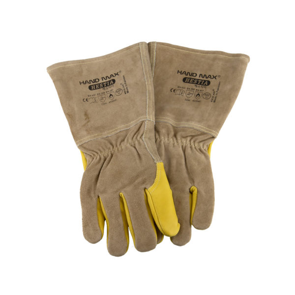 Leather Protection Gloves - Medium